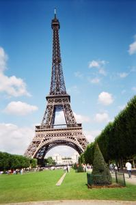 Eiffel Tower on Sunny Day