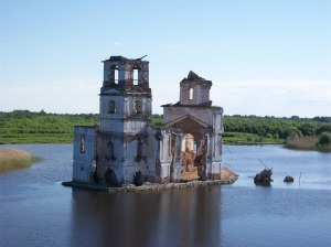 Ruin in the Water