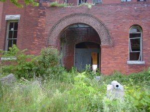 Sackets Harbor Mess Hall Entrance