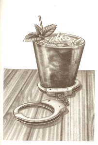 Might you try a Crime and Punish-mint? Illustration by Lauren Mortimer.