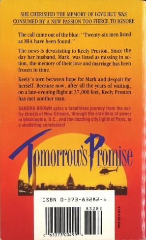 Tomorrow Promise back 1