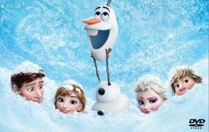 Frozen back cover image