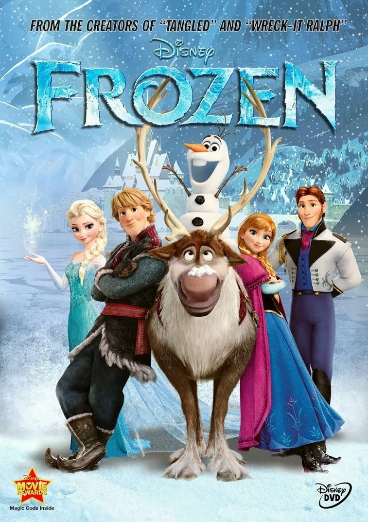 Image result for frozen dvd cover