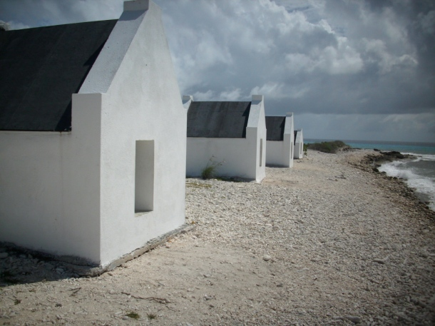 Huts by the Sea