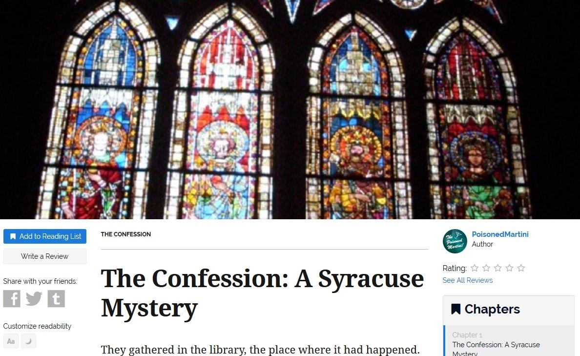 Short Stories About Confession 106