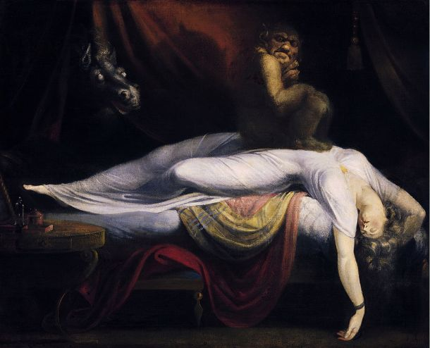 John Henry Fuseli The Nightmare 1781
