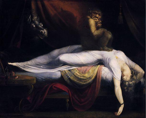 John Henry Fuseli The Nightmare 1781
