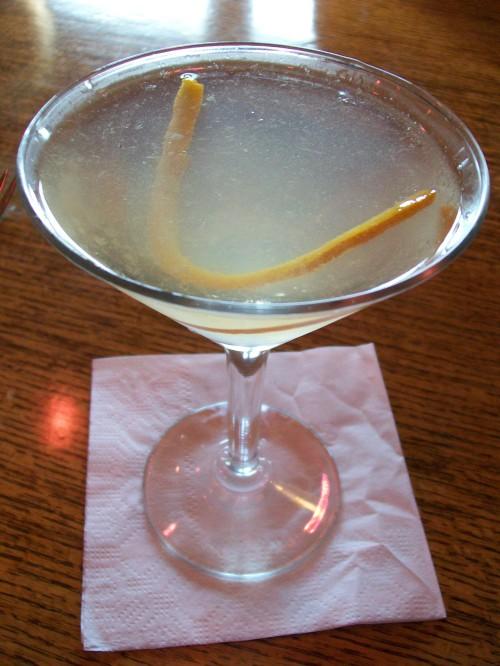 Lillet Liberte cocktail