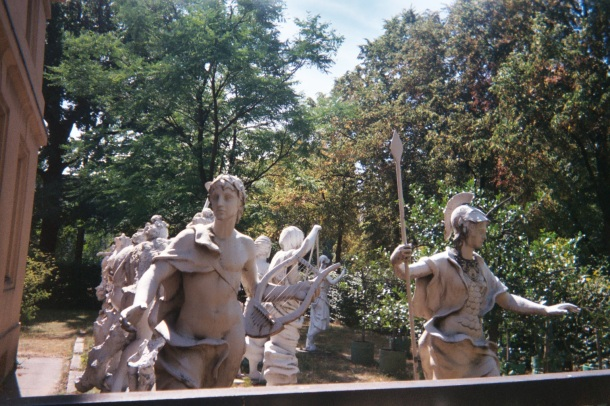 Statues in the Garden